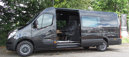 Vauxhall Van Conversions | CoTrim | Salisbury UK