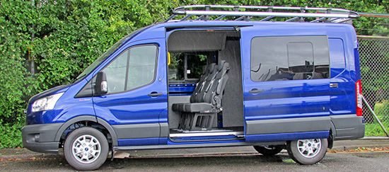 Ford Van Conversions | CoTrim | Salisbury UK