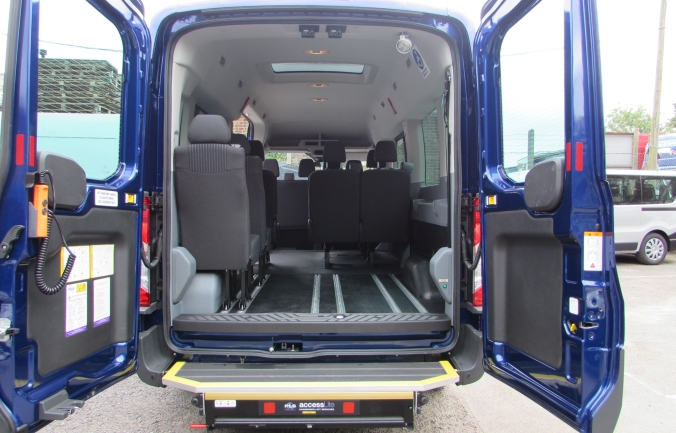 Ford Transit 14 seater Accessline