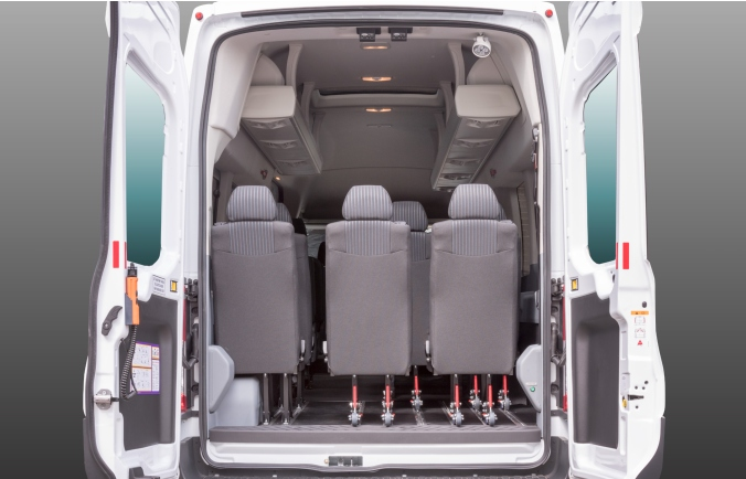 Ford Transit 17 seater Accessline
